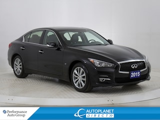 2015 INFINITI Q50 AWD, Navi, Back Up Cam, Pano Roof! Sedan