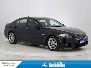 2013 BMW 528i xDrive, M Sport Pkg, Navi, Sunroof, Back Up Cam! Sedan