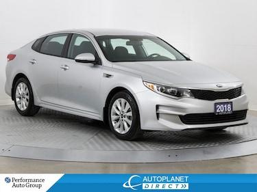 2018 Kia Optima LX+, Heated Seats, Welcome Lighting System! Sedan
