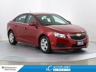 2013 Chevrolet Cruze LT, Back Up Cam, Heated Seats, Leather! Sedan