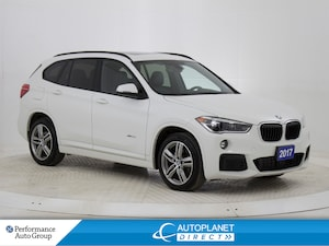 2017 BMW X1 xDrive28i, M Sport, Navi, Heads Up Display!