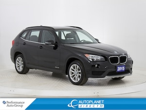 2015 BMW X1 xDrive28i, Sunroof, Heated Seats, Bluetooth!