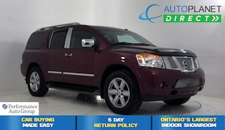 2011 Nissan Armada 4x4, Platinum, Navi, Sunroof, Back Up Cam! SUV