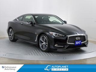 2017 INFINITI Q60  AWD, Premium Pkg, Navi, Sunroof, Back Up Cam! Coupe