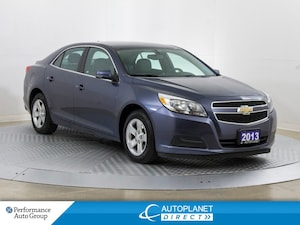 2013 Chevrolet Malibu LS, OnStar, Bluetooth, Ontario Vehicle!