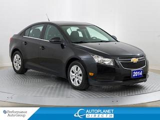 2014 Chevrolet Cruze 1LT, OnStar, Bluetooth, Ontario Vehicle! Sedan