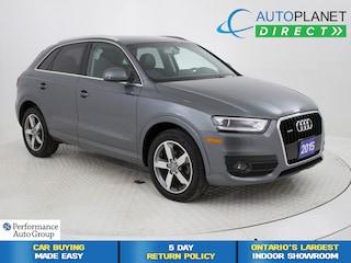 2015 Audi Q3 2.0T Quattro, Progressive, Pano Roof, Bluetooth! SUV