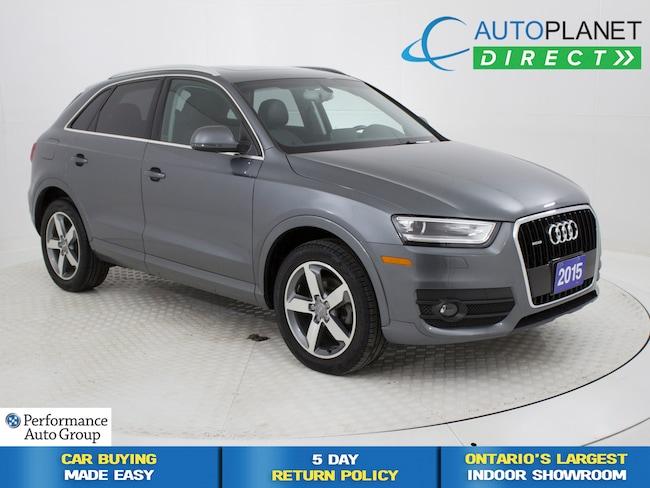 2015 Audi Q3 2.0T Quattro, Pano Roof, Bluetooth, Heated Seats! SUV