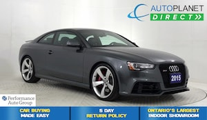 2015 Audi RS 5 Quattro, Navi, Pano Roof, Back Up Cam, Bluetooth!