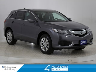 2018 Acura RDX AWD, Sunroof, Back Up Cam, Heated Seats! SUV