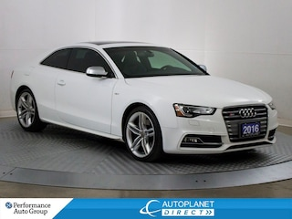 2016 Audi S5 3.0T Quattro, Technik, Navi, Moon Roof! Coupe