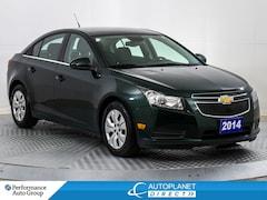 2014 Chevrolet Cruze 1LT, Bluetooth, Clean Carfax, Ontario Vehicle! Sedan