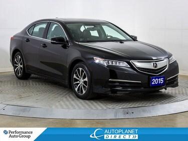 2015 Acura TLX P-AWS, Back Up Cam, Heated Seats, Sunroof! Sedan