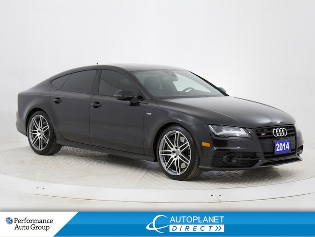 2014 Audi S7 4.0 Quattro, Navi, Heads Up Display, Sunroof! Hatchback