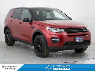 2016 Land Rover Discovery Sport HSE 4x4,7 Pass, Navi, Back Up Cam,Parking Sensors! SUV