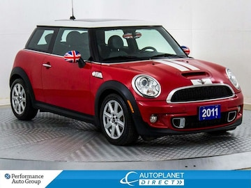 2011 MINI COOPER S Pano Roof, Heated Seats, Bluetooth! Hatchback