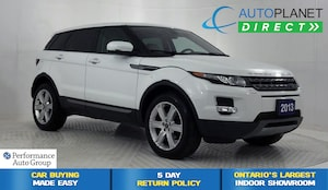 2013 Land Rover Range Rover Evoque Pure Plus 4x4, Navi, Pano Roof!