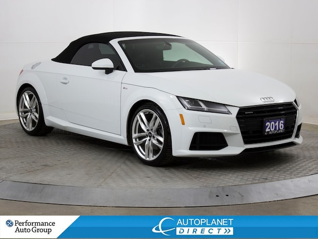 2016 Audi TT Quattro, Convertible, S Line, Navi, Back Up Cam! Convertible