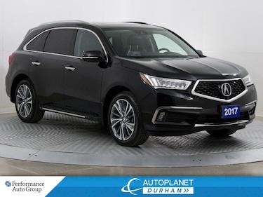 2017 Acura MDX AWD, Elite Pkg, 7 Pass, Navi, 360 Cam, Sunroof! SUV
