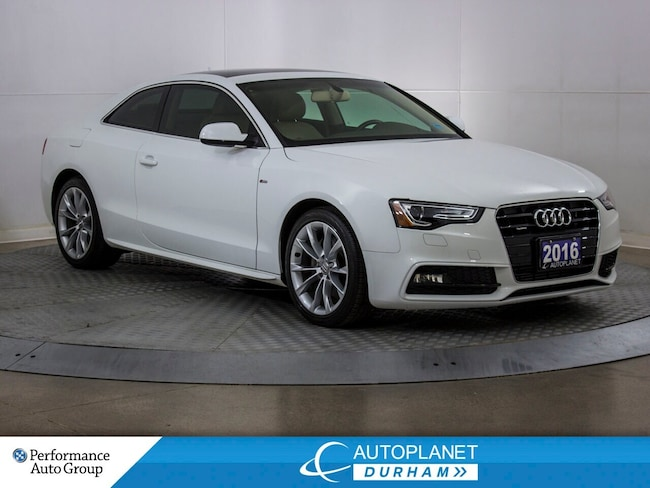 2016 Audi A5 Quattro Turbo, Komfort+, S Line, Navi, Sunroof! Coupe