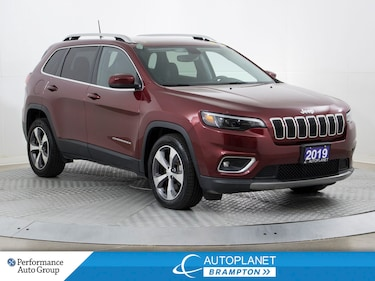 2019 Jeep Cherokee Limited, Back Up Cam, Remote Start, Bluetooth! SUV