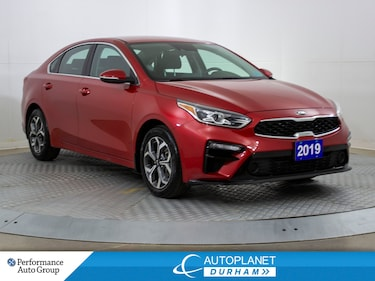 2019 Kia Forte EX, Back Up Cam, Wireless Charging, Apple Carplay! Sedan