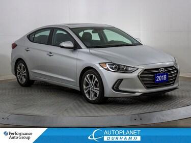 2018 Hyundai Elantra GLS, Back Up Cam, Heated Seats, Sunroof! Sedan