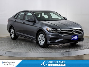 2019 Volkswagen Jetta Turbo, Comfortline, Back Up Cam, Apple CarPlay! Sedan