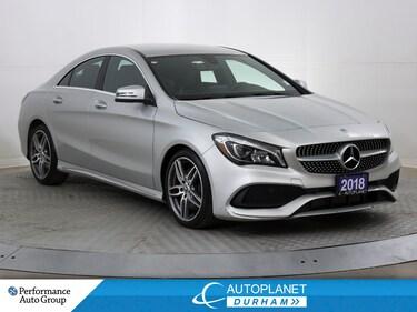 2018 Mercedes-Benz CLA 250 4MATIC, Premium Sports Pkg, Back Up Cam!  Sedan