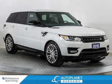 2015 Land Rover Range Rover Sport 4x4 V8 Supercharged, Navi, Pano Roof! SUV