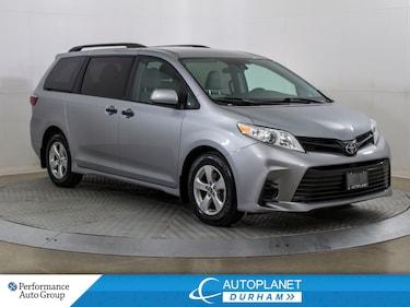 2018 Toyota Sienna ,7 Passenger, Back Up Cam, Bluetooth! Van Passenger Van