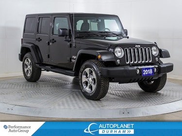 2018 Jeep Wrangler Unlimited Sahara 4x4, Navi, Remote Start! SUV