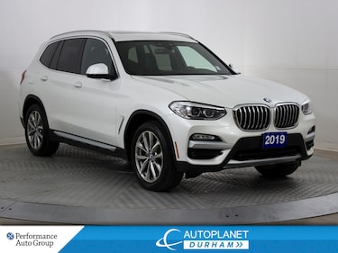 2019 BMW X3 xDrive30i, Navi, Heated Seats, Pano Roof!  SAV