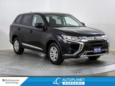 2019 Mitsubishi Outlander ES 4x4, Back Up Cam, Heated Seats, Bluetooth! SUV