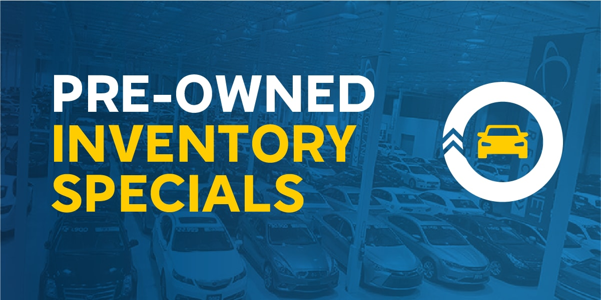 Pre-Owned Inventory Specials