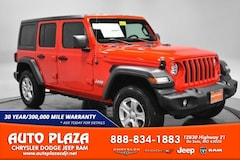 New Chrysler Dodge Jeep Ram 2020 Jeep Wrangler UNLIMITED SPORT S 4X4 Sport Utility for sale in De Soto, MO