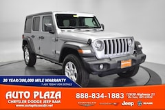 New Chrysler Dodge Jeep Ram 2019 Jeep Wrangler UNLIMITED SPORT S 4X4 Sport Utility for sale in De Soto, MO