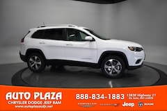 New Chrysler Dodge Jeep Ram 2020 Jeep Cherokee LIMITED 4X4 Sport Utility for sale in De Soto, MO