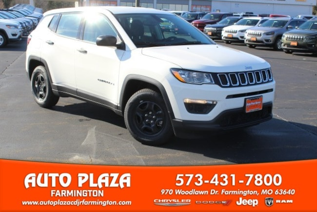 New 2019 Jeep Compass SPORT FWD Sport Utility in Farmington, MO
