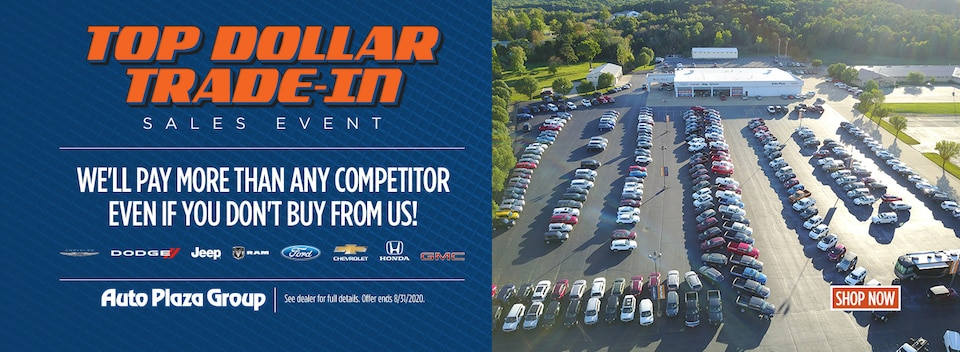 Top Dollar Trade-In Sales Event