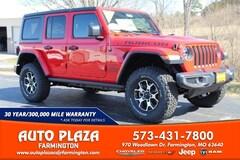 New 2020 Jeep Wrangler UNLIMITED RUBICON 4X4 Sport Utility for sale in Farmington, MO