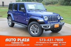 New 2018 Jeep Wrangler UNLIMITED SAHARA 4X4 Sport Utility 11120 for sale in Farmington, MO