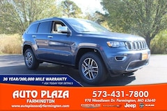 New 2021 Jeep Grand Cherokee LIMITED 4X4 Sport Utility for sale in Farmington, MO