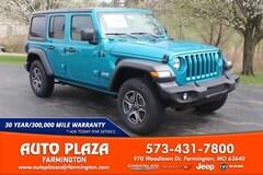 New 2020 Jeep Wrangler UNLIMITED SPORT S 4X4 Sport Utility for sale in Farmington, MO