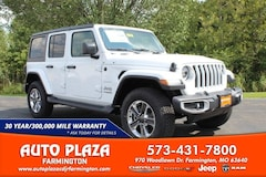 New 2021 Jeep Wrangler UNLIMITED SAHARA 4X4 Sport Utility for sale in Farmington, MO
