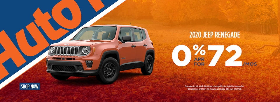 0 for 72 Jeep Renegade
