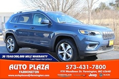 New 2020 Jeep Cherokee LIMITED 4X4 Sport Utility for sale in Farmington, MO