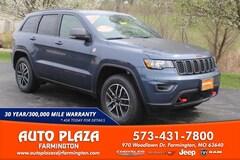 New 2020 Jeep Grand Cherokee TRAILHAWK 4X4 Sport Utility for sale in Farmington, MO