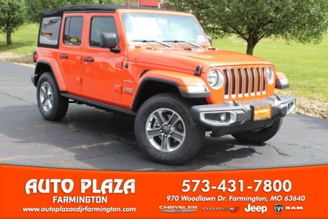 New 2018 Jeep Wrangler UNLIMITED SAHARA 4X4 Sport Utility in Farmington, MO