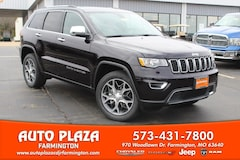 New 2019 Jeep Grand Cherokee LIMITED 4X4 Sport Utility 11190 for sale in Farmington, MO